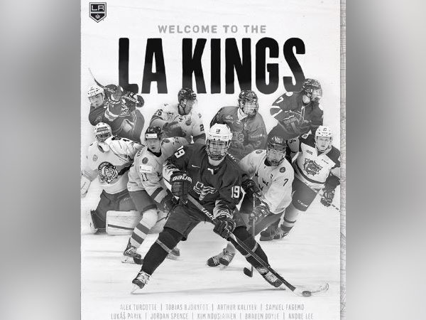 LA Kings hockey team (Image courtesy: Instagram)