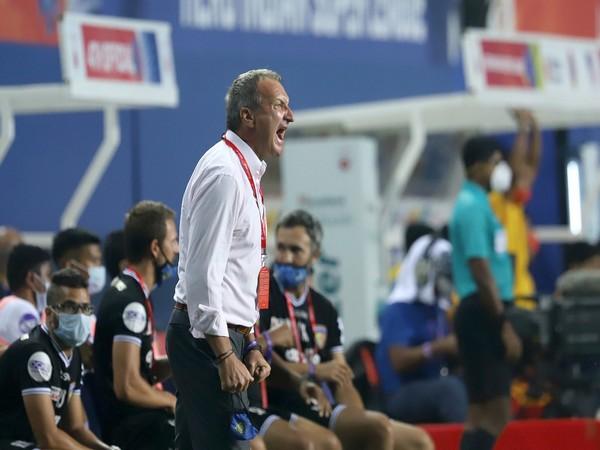 Chennaiyin FC coach Csaba Laszlo (Photo/ Sportzpics)