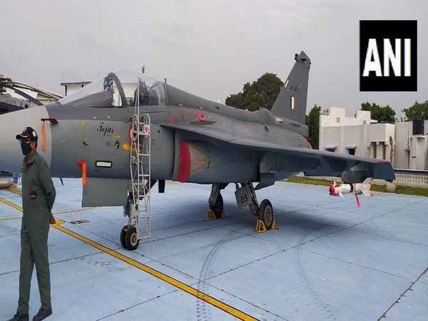 The LCA Tejas fighter plane.