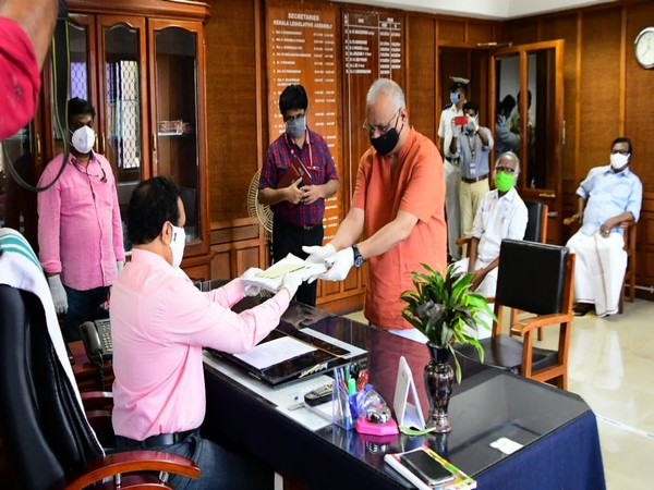 LJD state president MV Shreyams Kumar filed his nomination paper on Thursday to contest the Rajya Sabha poll from Kerala as Left Democratic Front (LDF) candidate.