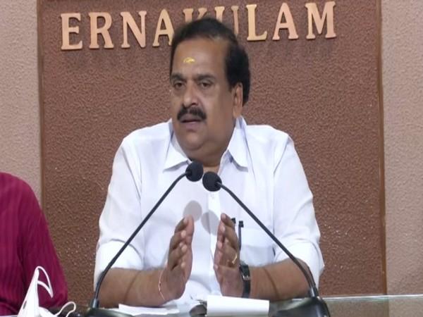 BJP National Executive Member PK Krishna Das. (Photo/ANI)