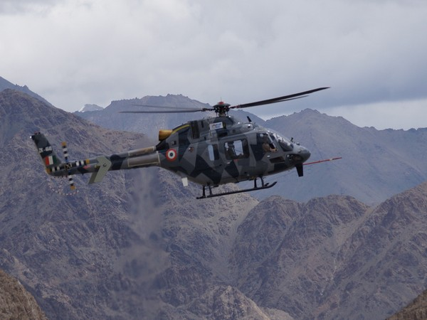 HAL designed and developed Light Utility Helicopter (LUH) successfully demonstrated high altitude capability in hot and high weather conditions.