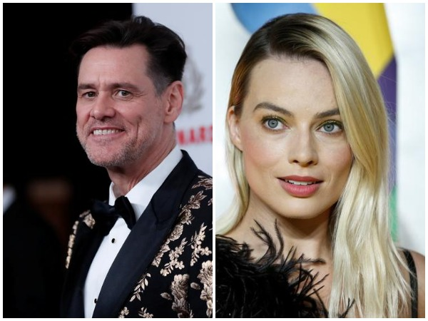 Jim Carrey and Margot Robbie