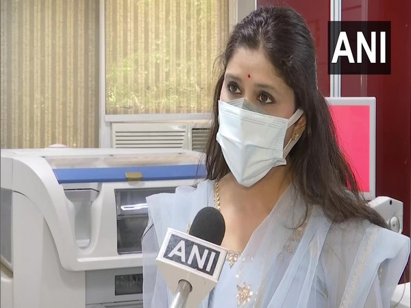 Dr Gauri Agarwal, Founder Director of Genestrings Labs speaking to ANI. (Photo / ANI)