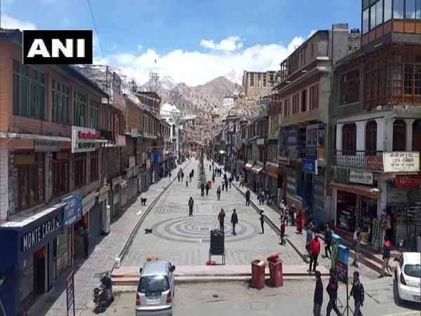 A visual from Ladakh. (Photo/ANI)