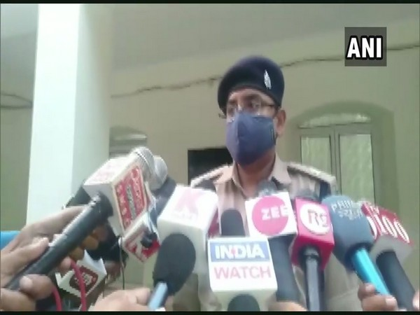 Assistant Superintendent of Police (ASP) Lakhimpur Kheri, Arun Kumar Singh speaking to the reporters. (Photo/ANI)