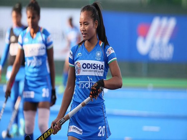 India hockey team striker Lalremsiami (Photo/ Hockey India Twitter)