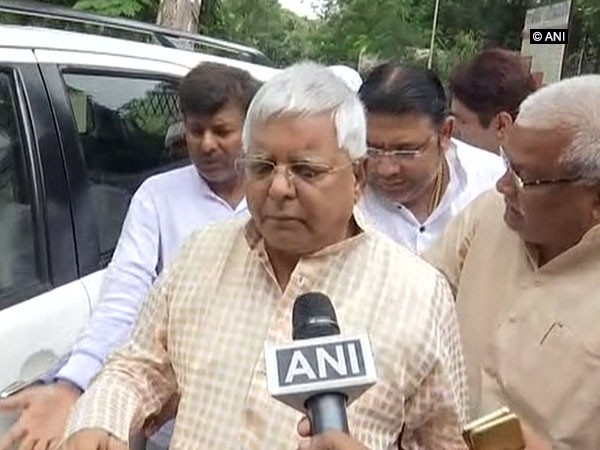 RJD president Lalu Prasad Yadav (File photo)