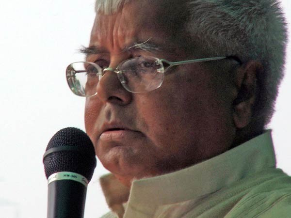 Former Chief Minister of Bihar, Lalu Prasad Yadav (file photo)