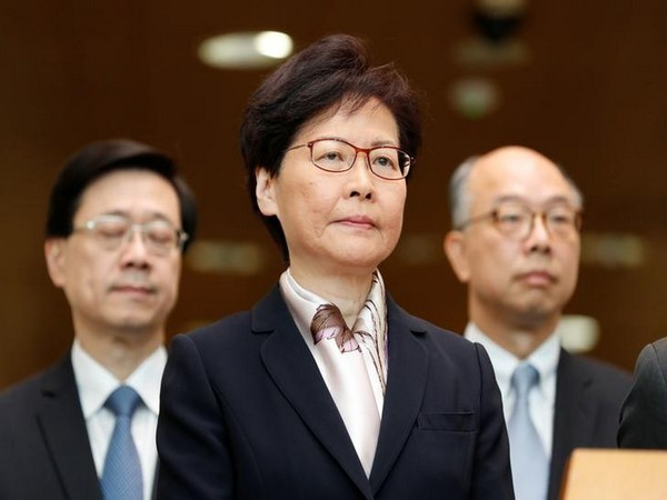 Hong Kong Chief Executive Carrie Lam (File pic)