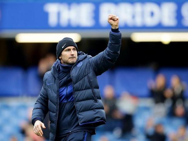 Chelsea coach Frank Lampard.