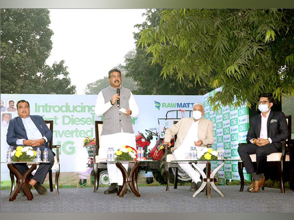 Launch of India's first bio-CNG tractor