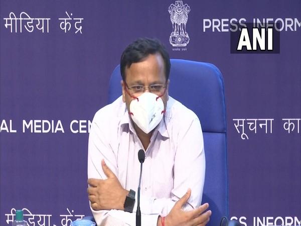 Joint Secretary of Union Health Ministry, Lav Agarwal. (Photo/ANI)