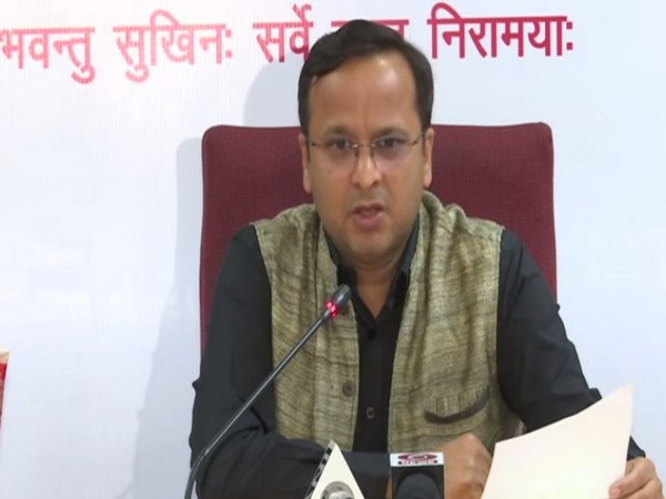 Lav Agarwal, Joint Secretary, Health Ministry, speaking to reporters at a press conference on Tuesday. Photo/ANI