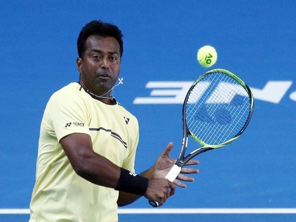 India tennis player Leander Paes