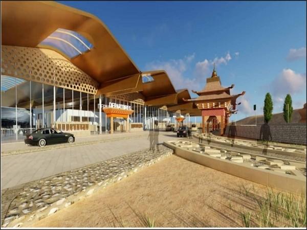 Redevelopment Plan of Leh Airport.