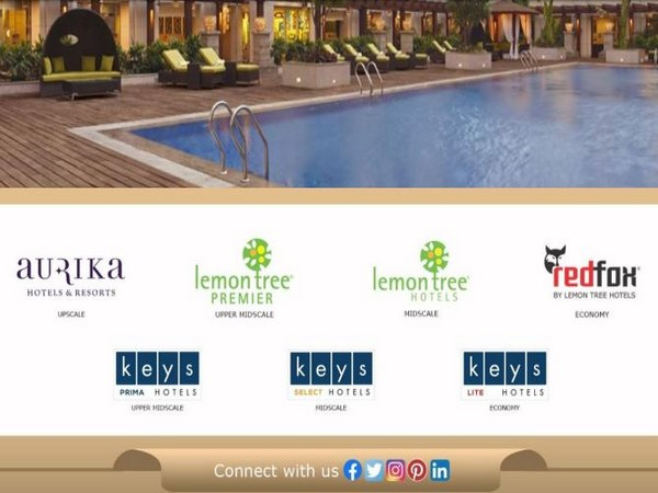 The company operates 8,000 rooms in 80 hotels across 48 cities under various brands