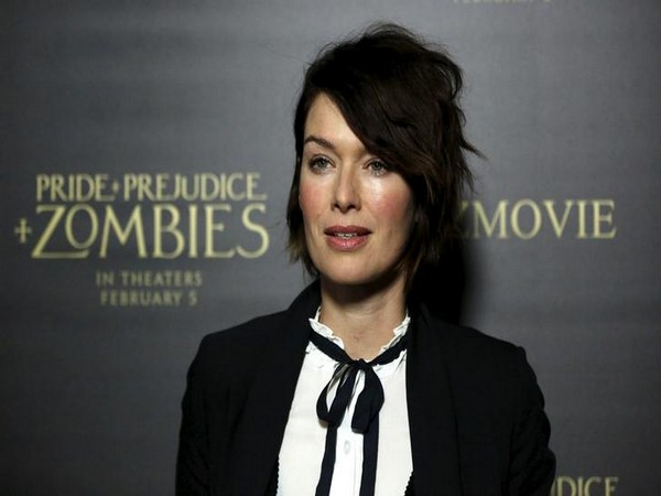 "Lena Headey poses at the premiere of ""Pride and Prejudice and Zombies"" in Los Angeles"