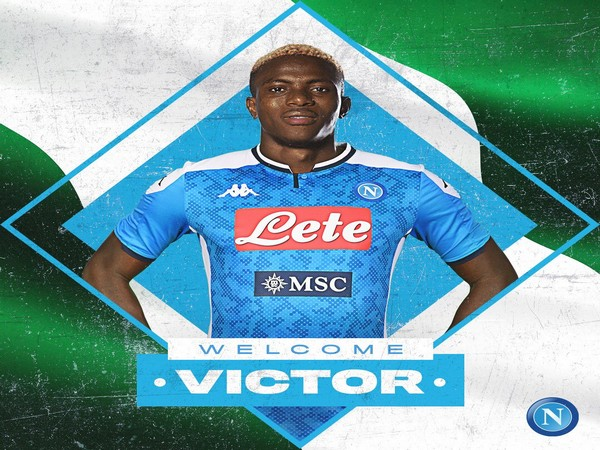 Nigerian striker Victor Osimhen (Photo/Napoli Twitter)