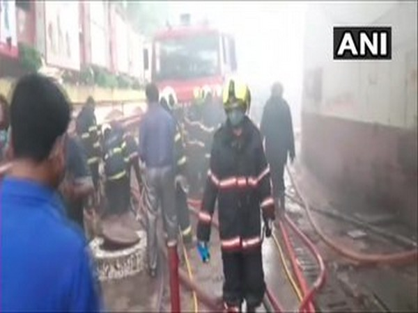 Efforts being made to douse a level 4 fire that broke out at a shopping centre at Mumbai's Borivali West area.
