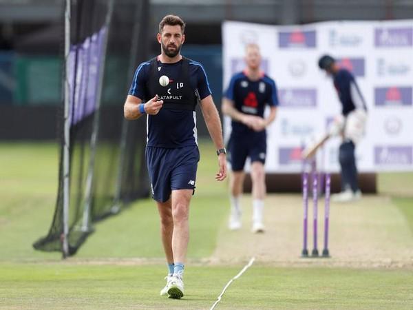 England fast bowler Liam Plunkett