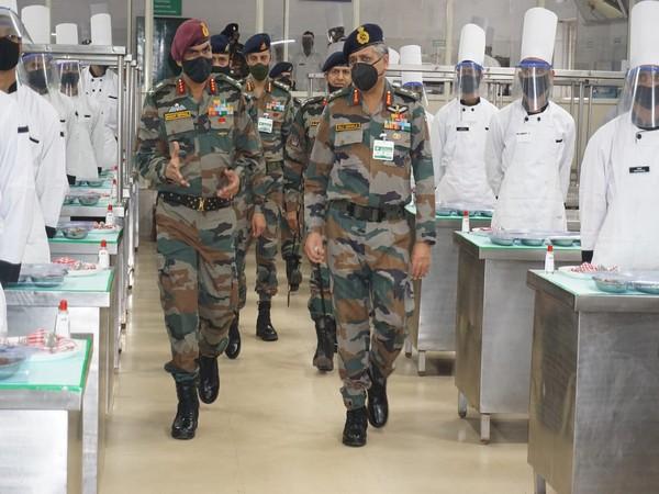 Lieutenant General Raj Shukla visits ASC Centre and college in Bengaluru (Photo/ANI)
