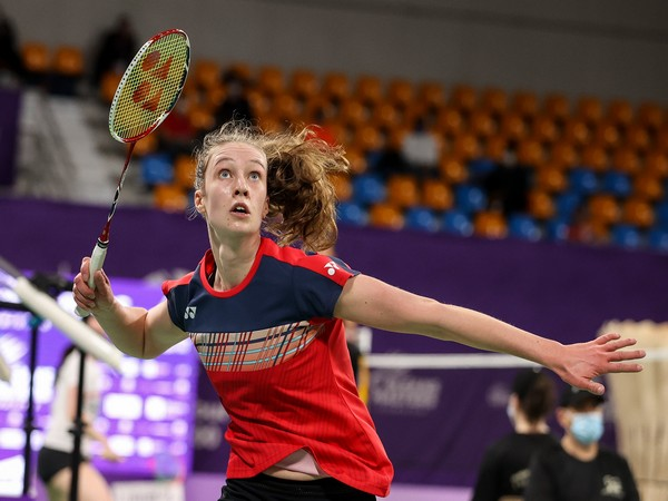 Denmark's Line Christophersen (Photo BWF Twitter)