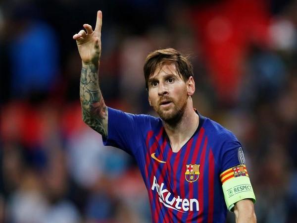 Barcelona's star striker Lionel Messi