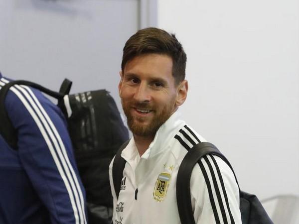 Argentina player Lionel Messi