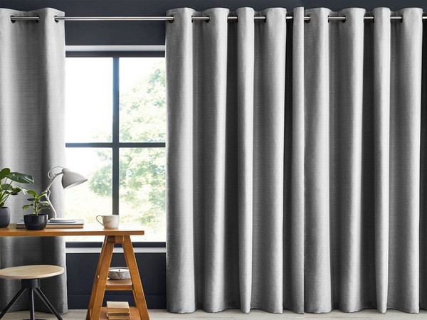 Livpure Sleep Dark Grey Blackout-Curtain