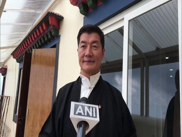 Lobsang Sangay, President, Central Tibetan Administration speaking to ANI in Dharmshala on Monday
