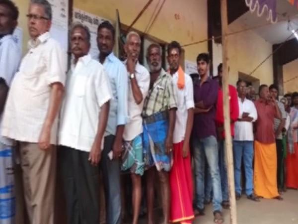 File photo of polling in Madurai