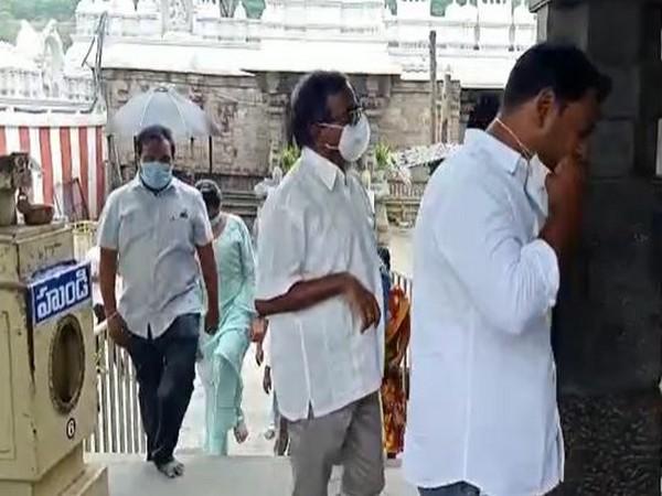 Devotees arriving at Simhachalam Sri Varaha Lakshmi Narasimha Swami temple on Monday.