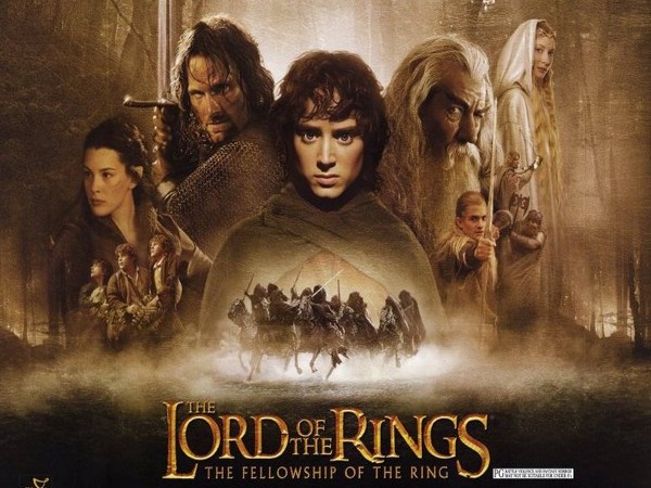 A poster of 'Lord of the Rings'