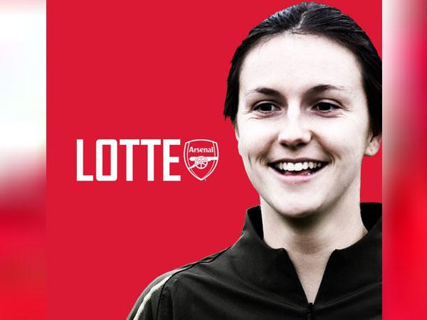 England defender Lotte Wubben-Moy (Photo/Arsenal Women Twitter)
