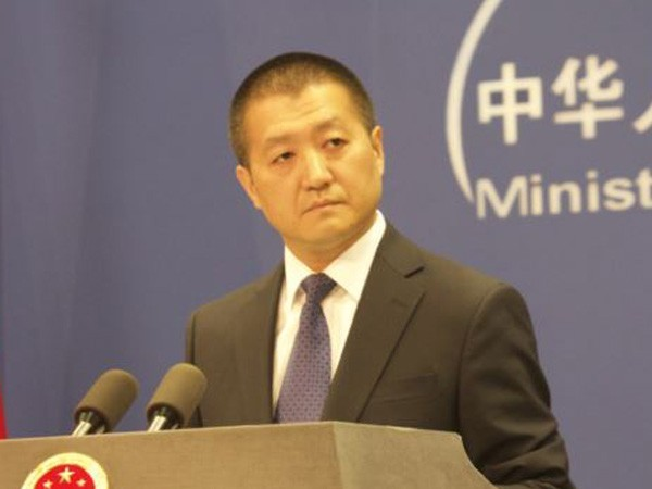 Chinese Foreign Ministry spokesperson Lu Kang. (File photo)