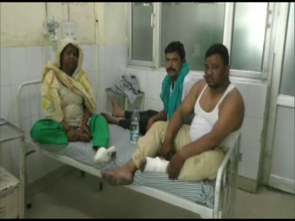 Injured pilgrims from Ludhiana