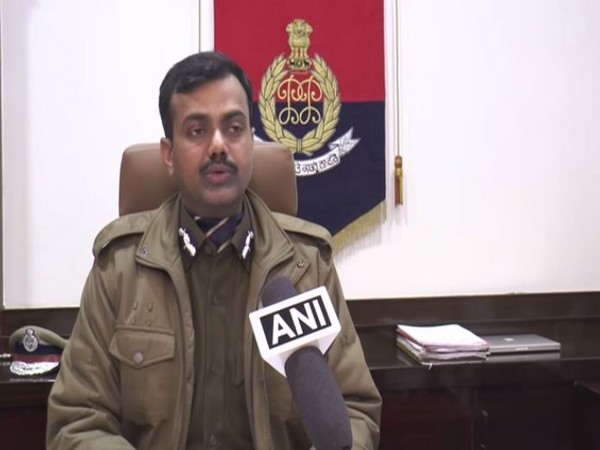 Commissioner of Police, Ludhiana, Rakesh Agarwal speaking to ANI on Thursday. Photo/ANI