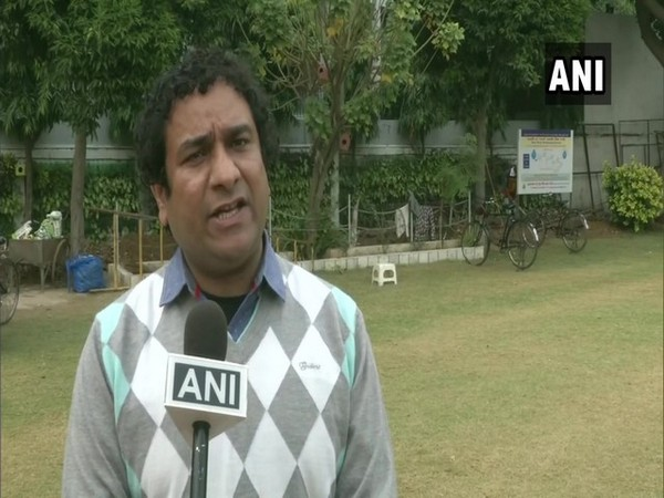 IRS officer Rohit Mehra in Ludhiana (Photo/ANI)