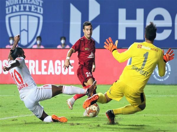 NorthEast, Bengaluru played out 1-1 draw in the ISL (Photo/ ISL)
