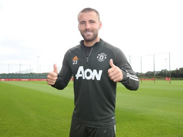 Manchester United defender Luke Shaw (Photo/Manchester United Twitter)