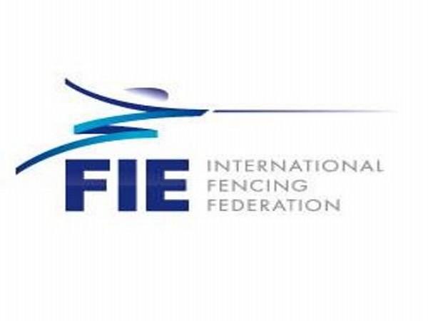 International Fencing Federation (FIE) logo