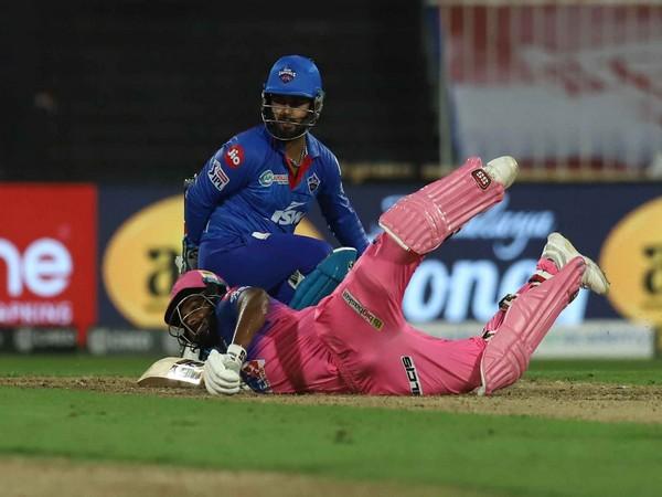 Delhi Capitals' wicket-keeper batsman Rishabh Pant in action against Rajasthan Royals (Photo/ iplt20.com)
