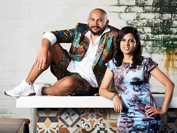 Founder Abhishek MADugula and Co-Founder Shruti Dontula