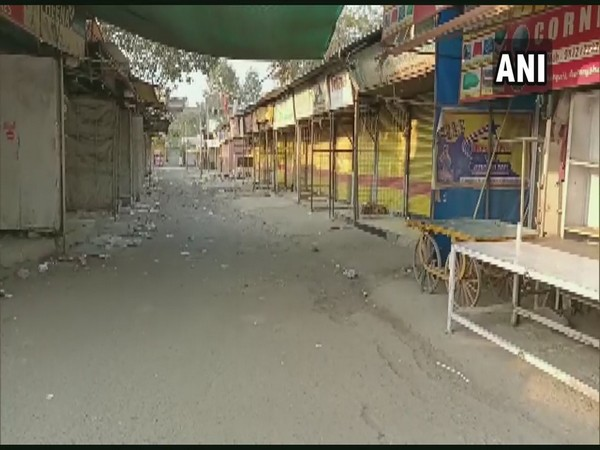 Visual of markets in Aurangabad (Photo/ANI)