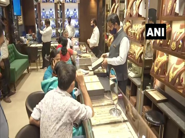 Visual of a jewellery shop in Patna (Photo/ANI)