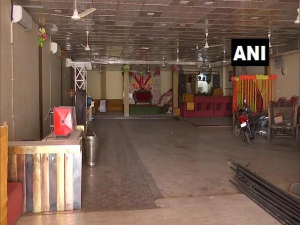 Visual of a banquet hall in Delhi's Mayur Vihar (Photo/ANI)