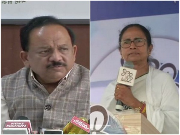 Union Health Minister Dr. Harsh Vardhan (left) / West Bengal Chief Minister Mamata Banerjee (right)