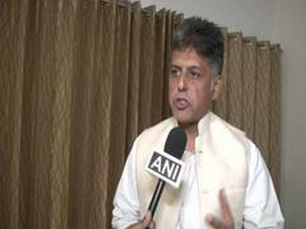 Congress leader Manish Tewari. (File photo)