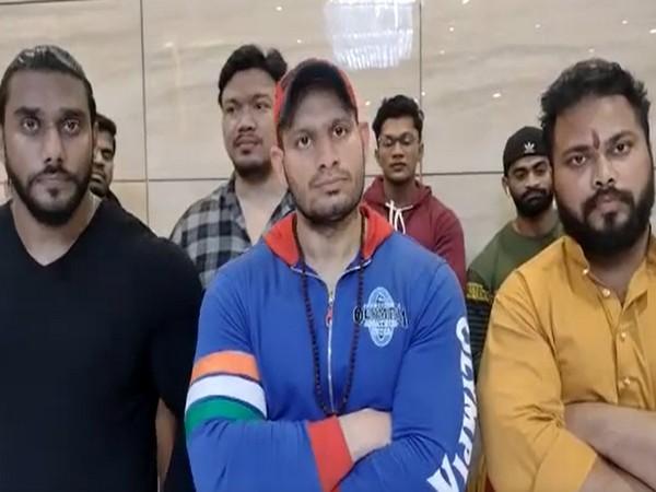 Bodybuilder Manoj Patil (Photo/ANI)